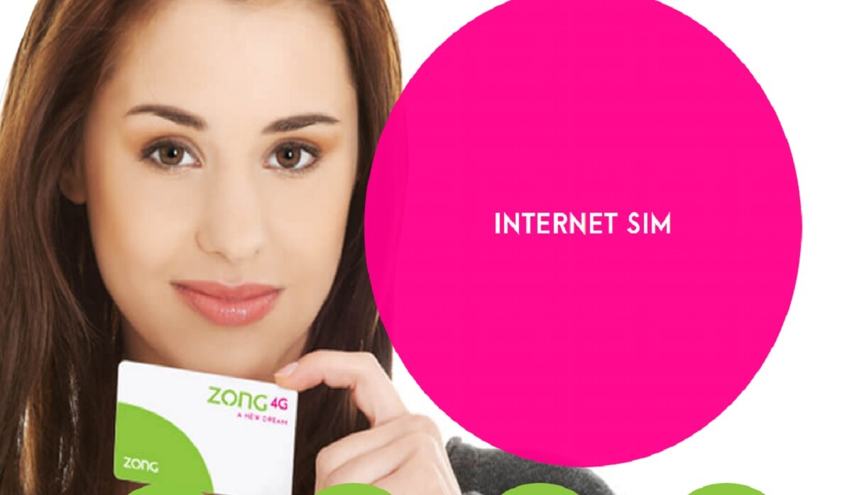 Zong data sim Packages, Zong internet Sim Packages